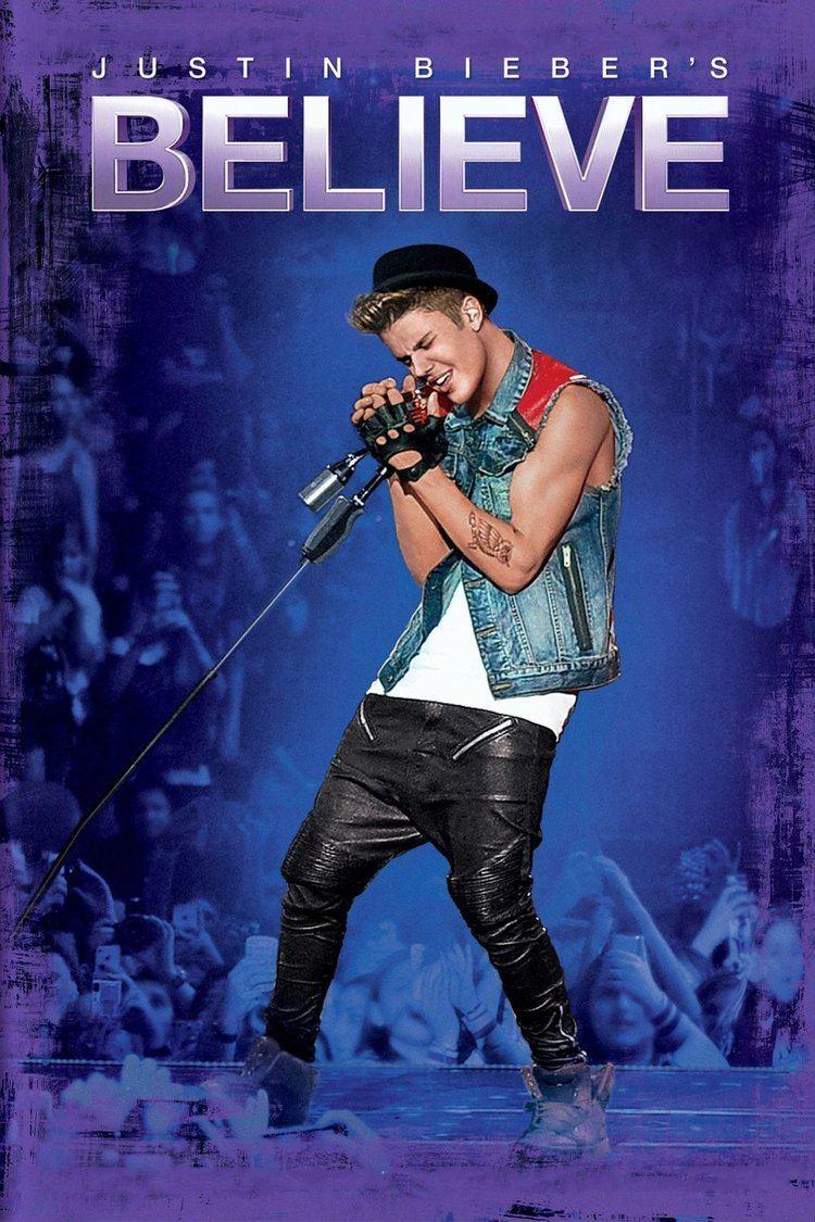 Justin Biebers Believe movie poster