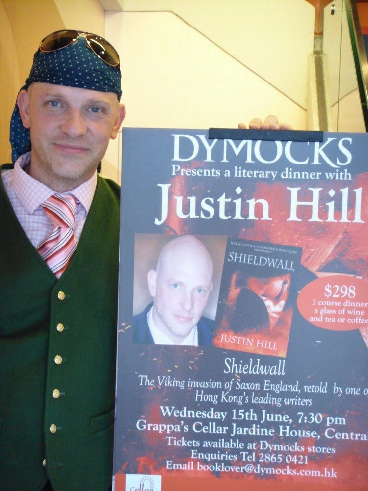 Justin Hill Justin Hill Author June 2011