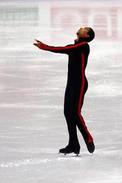 Justin Pietersen Justin Pietersen in ISU World Figure Skating Championships Day 4