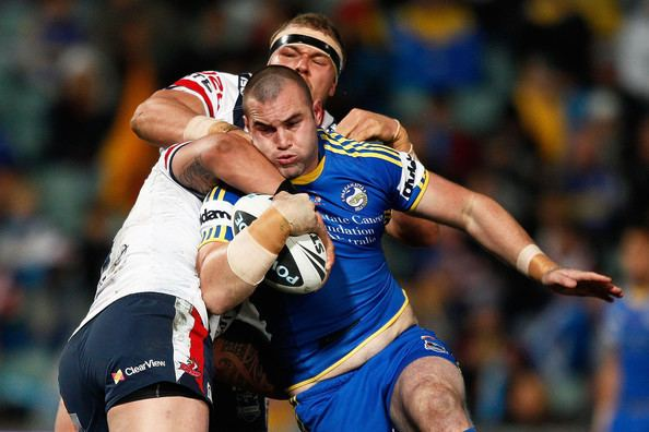 Justin Poore Justin Poore Pictures NRL Rd 23 Eels v Roosters Zimbio