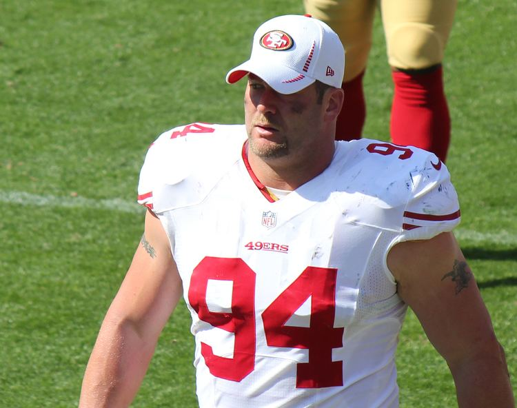Justin Smith (defensive end) Justin Smith defensive end Wikipedia the free