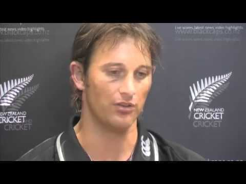 Fast bowler Shane Bond and Justin Vaughan held a press conference in