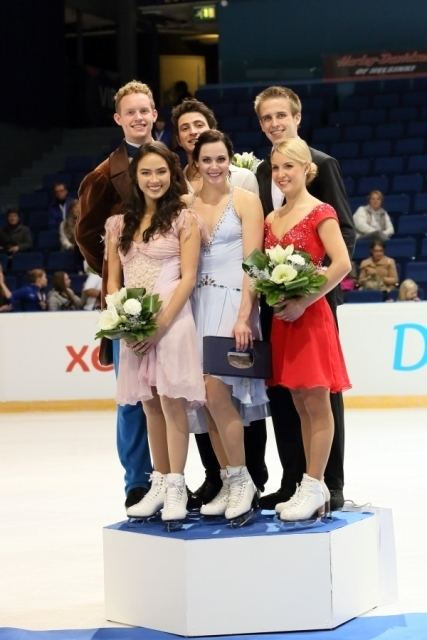 Justyna Plutowska Justyna Plutowska Peter Gerber Polish Senior Ice Dance Team
