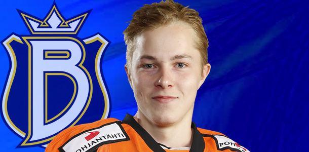 Juuso Vainio Nuorten maailmanmestari Juuso Vainio Espoo Bluesiin Japyhcom