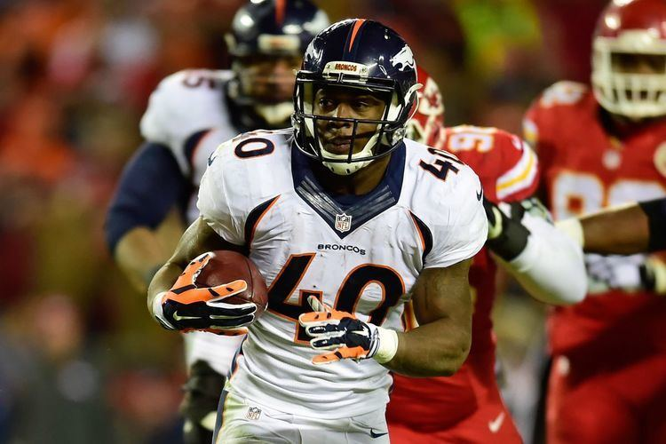 Juwan Thompson Broncos roster 2016 Running backfullback Juwan Thompson Mile