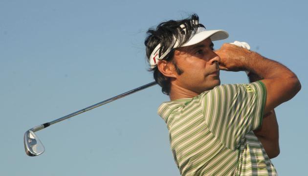 Jyoti Randhawa Golfer Jyoti Randhawa takes lead at Hong Kong Open