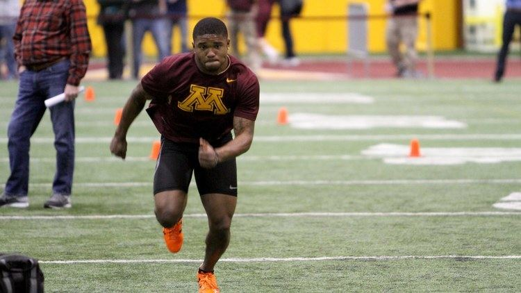 K. J. Maye KJ Maye Gopher Football Pro Day 2016 YouTube