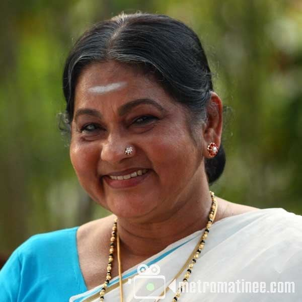 K. P. A. C. Lalitha KPAC Lalitha campaigns for LDF candidate Metrovaartha