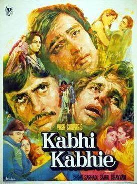 Kabhie Kabhie 1976 film Wikipedia
