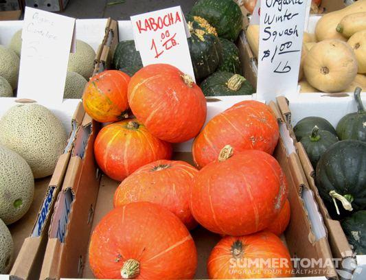 Kabocha Kabocha Squash Summer Tomato