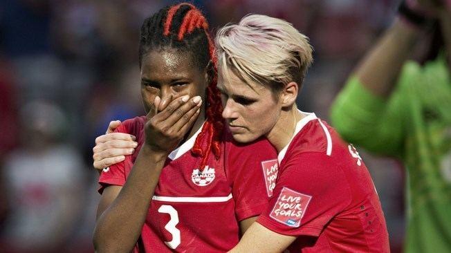 Kadeisha Buchanan Bright future beckons dejected Buchanan FIFAcom
