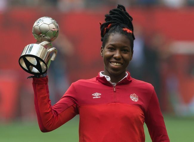 Kadeisha Buchanan Canada39s Buchanan named World Cup39s top youngster WORLD