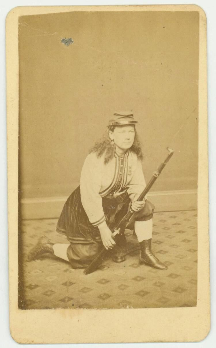 Kady Brownell Union Color Bearer Kady Brownell Who Fought at First Bull Run and