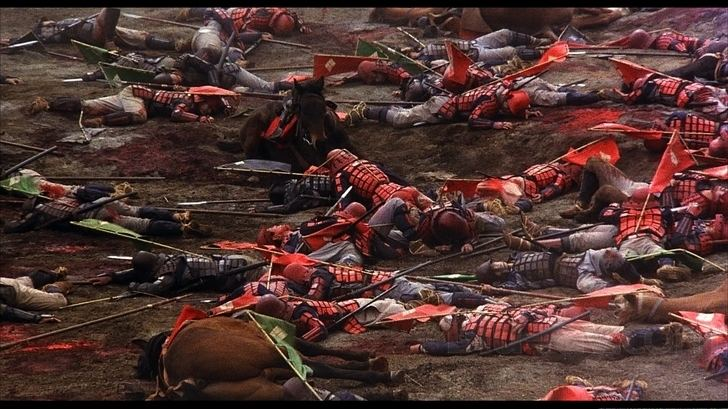 Kagemusha movie scenes Fortunately for us it is Criterion that brings it to Blu ray As far as I am concerned this is the best this beautiful film has