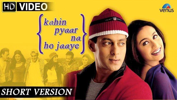 Kahin Pyaar Na Ho Jaaye Short Version Salman Khan Rani Mukerji