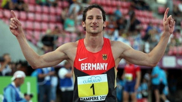 Kai Kazmirek European Athletics Kazmirek the decathlete who loves