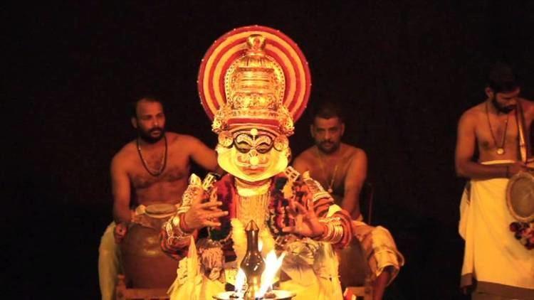 Kalamandalam Sivan Namboodiri Kalamandalam Sivan Namboodiri as Ravanan in Thoranayuddham
