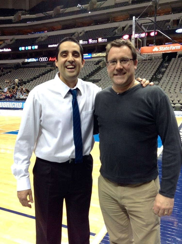 Kaleb Canales CSL Student Meets with NBA coach Alumni Mentor Sport