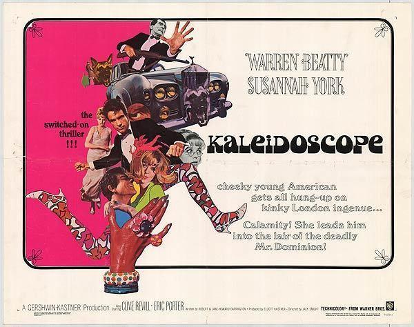 Kaleidoscope (1966 film) Kaleidoscope movie posters at movie poster warehouse moviepostercom