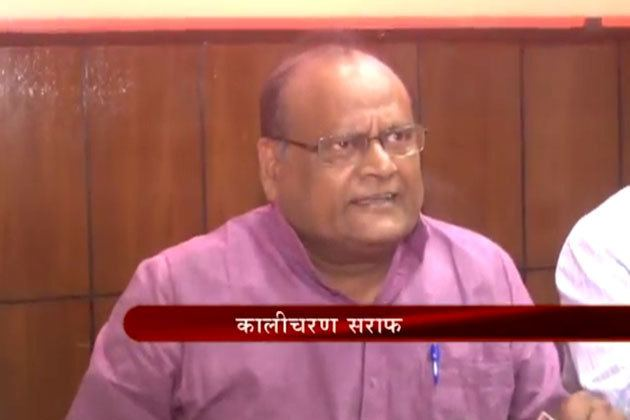 Kali Charan Saraf BJP leader Kalicharan Saraf smells scam in Barmer refinery