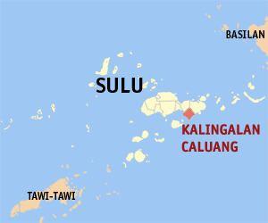 Kalingalan Caluang, Sulu