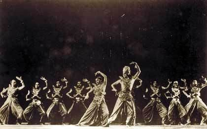 In Search of Uday Shankars Kalpana 1948 Dances on the Footpath