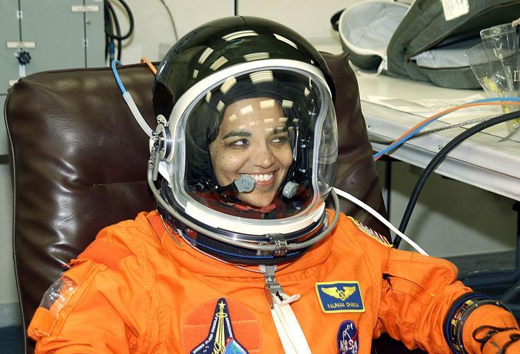 Kalpana Chawla STS107 KSC03PD0104 STS107 Mission Specialist Kalpana