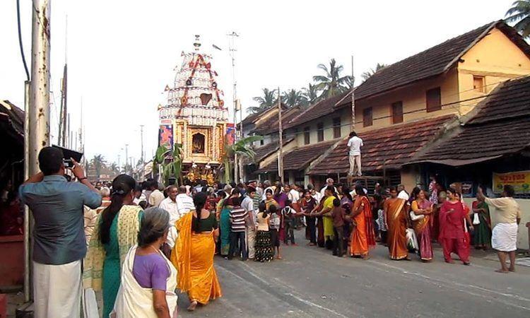 Kalpathi Culture Events In PalakadKeralaKalpathi RatholsavamIndiaeve