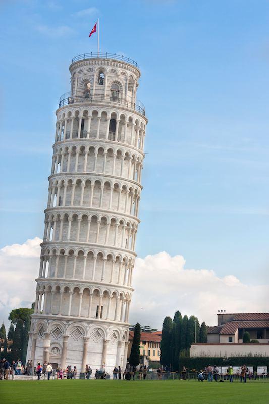 Kalteva torni Pisan kalteva torni