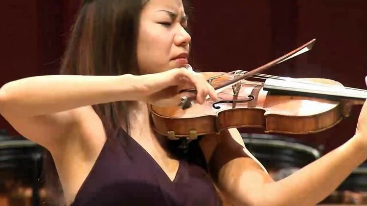 Kam Ning Ning Kam plays Bartok Violin Concerto No2 2nd movement