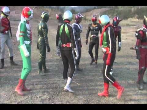 Kamen Rider Decade: All Riders vs. Dai-Shocker movie scenes KAMEN RIDER MOVIE ALL RIDER VS DAI SHOCKER