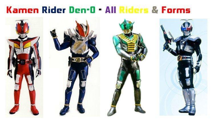 Kamen Rider Den-O Kamen Rider DenO All Riders and Forms YouTube