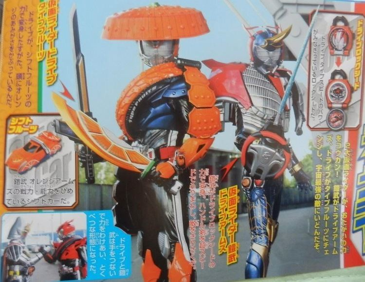 Kamen Rider J movie scenes Here are some new scans featuring scenes from the upcoming Kamen Rider X Kamen Rider Drive Gaim Movie Wars 2015 Full Throttle that will premiere this