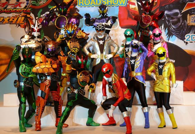 Kamen Rider OOO Wonderful: The Shogun and the 21 Core Medals