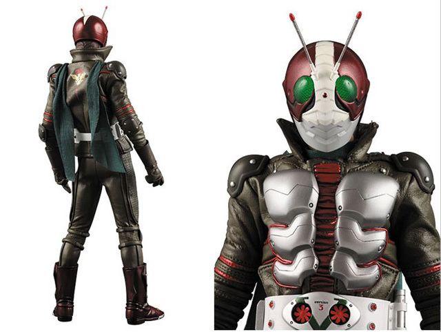 Kamen Rider: The Next Rerelease PROJECT BM Kamen Rider THE NEXT V3 by Medicom