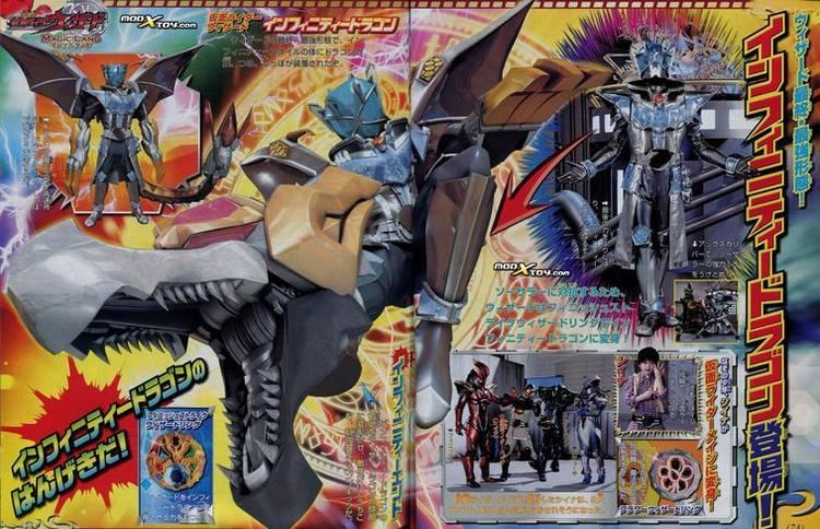 Kamen Rider Wizard in Magic Land movie scenes Alpha Heroshock just posted up the latest wave of scans from Wizard s summer film Kamen RIder Wizard in Magic Land The scans might contain spoilers for