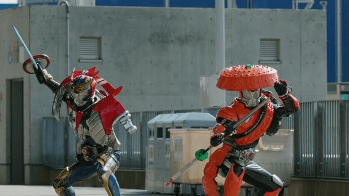 Kamen Rider World movie scenes It s a movie