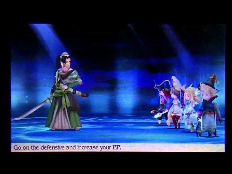 Kamiizumi Nobutsuna Bravely Default Swordmaster Nobutsuna Kamiizumi Boss Fight YouTube