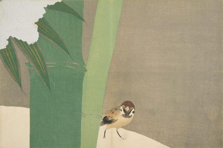 Kamisaka Sekka Momoyogusa Ichi 1909 by Sekka Kamisaka The