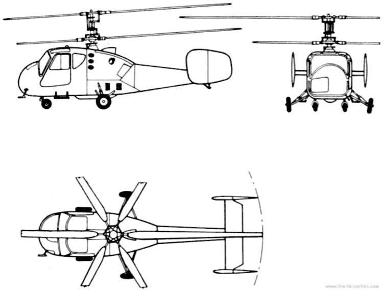 Kamov Ka-18 TheBlueprintscom Blueprints gt Helicopters gt Kamov gt Kamov Ka18 Hog