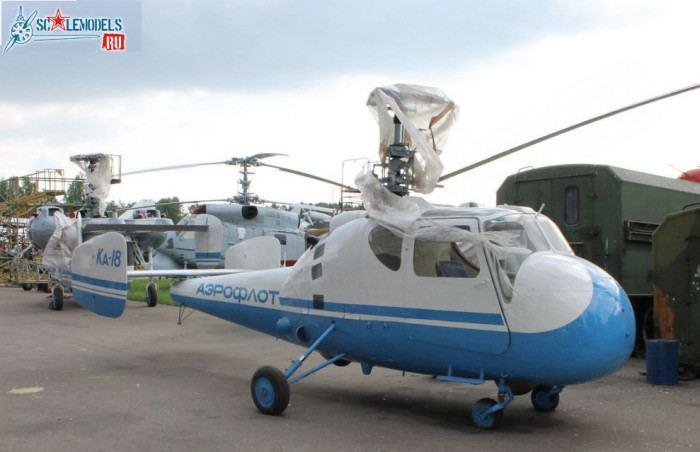 Kamov Ka-18 Kamov Ka18 Hog Modeler39s Online Reference