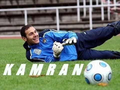 Kamran Aghayev Azerbaijan and Khazar Lenkoran FC Goalkeeper Kamran