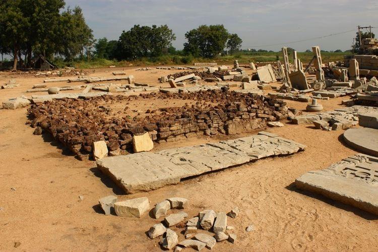 Kanaganahalli Journeys across Karnataka Ruins of a Stupa KanaganahalliSannati