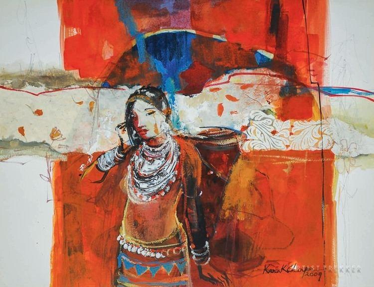 Kanak Chanpa Chakma Kanak Chanpa Chakma Bangladesh Art Market News Artist Trekker