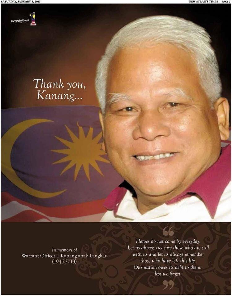 Kanang anak Langkau Kumang Saribasand this is my story Temenggong Datuk