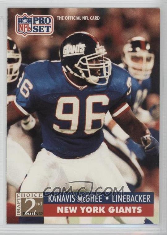 Kanavis McGhee 1991 Pro Set Base 784 Kanavis McGhee COMC Card Marketplace