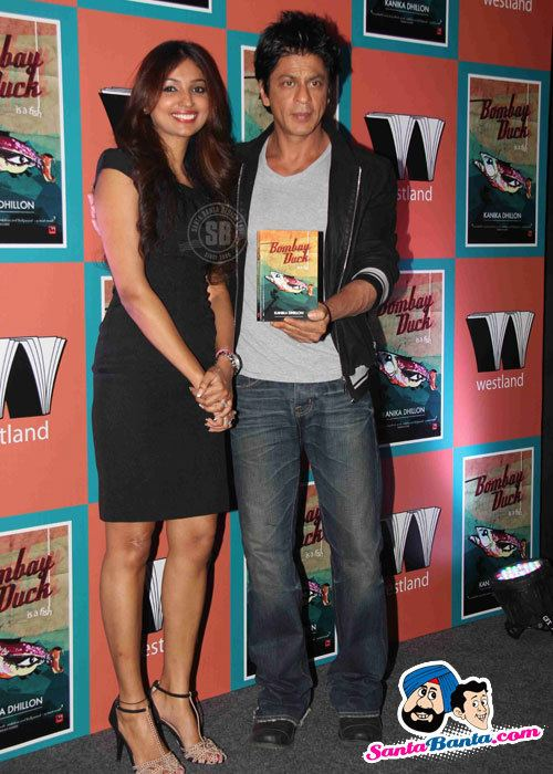 Kanika Dhillon SRK Unveils Bombay Duck Is A Fish Kanika Dhillon and