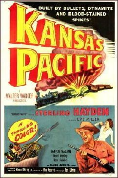 Kansas Pacific (film) A Western Movie Review by Jonathan Lewis KANSAS PACIFIC 1953