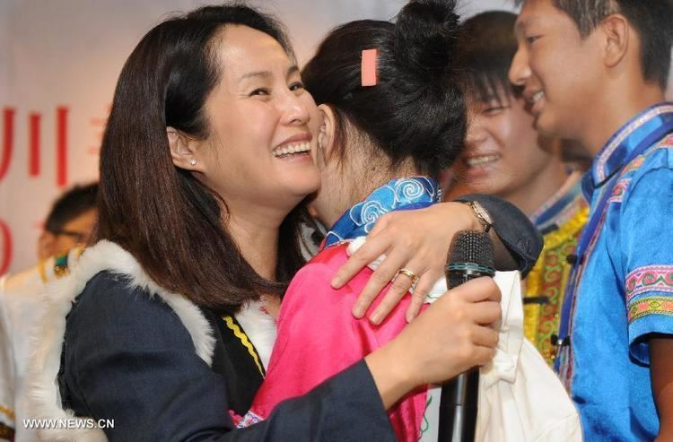 Kao Chin Su-mei Kao Chin Sumei and her 20 children in Beichuan Chinaorgcn