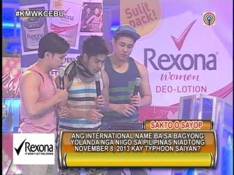 Kapamilya Winner Ka! Kapamilya Mas Winner Ka Cebu Rexona Deolotion Noontime Show YouTube